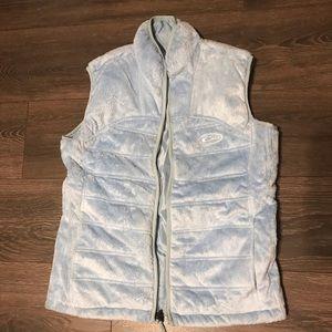 Baby blue drake vest